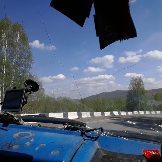 Дорога Шушенское - Кызыл