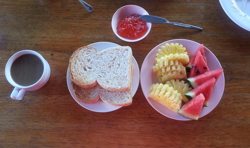 Завтрак за день до марафона